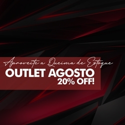 Outlet Agosto 20% OFF